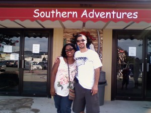 Rob nd Lisa-Southern Adventure